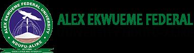Alex Ekwueme Federal Univesity, Ndufu-Alike Ikwo, Abakaliki, Ebonyi State