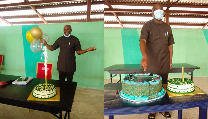 AE- FUNAI Management and  Corporate  Friends Celebrate VC at 56
