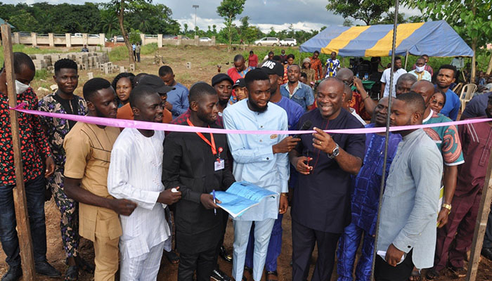 AE-FUNAI: VC LAYS FOUNDATION FOR THE BIGGEST SUG BUILDING IN SOUTH EAST.