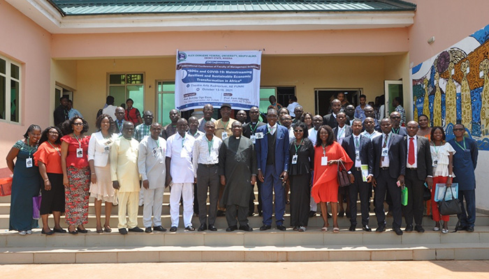 AE-FUNAI FACULTY OF MANAGEMENT SCIENCES HOSTS MAIDEN INTERNATIONAL CONFERENCE